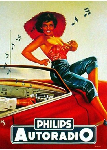 Affiche Autoradio Philips