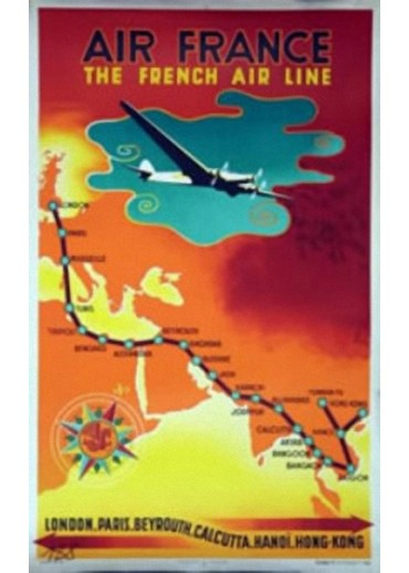 Affiche Musée Air France® - The French Air Line