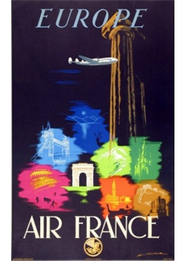 Affiche Musée Air France® - Europe