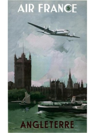 Affiche Musée Air France® - Angleterre